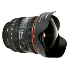 Canon Lens EF 8-15 mm f/4L USM (Fish Eye)