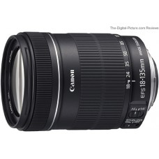 Canon Lens EF-S 18-135mm f/3.5-5.6 IS Lens