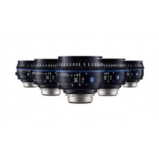 ZEISS Compact Prime CP3 5 Lens Set (EF Mount)