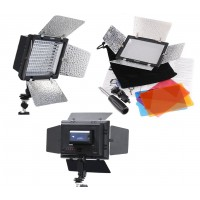 LED Video Light 5 Inch YN-160 (With Battery)