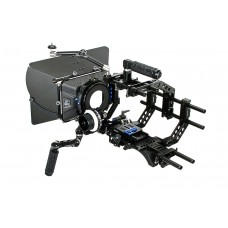 Tilta Universal Shoulder Rig, Baseplate w/Shoulder Pad, 4x4 Carbon Fiber Matte Box & FF Unit