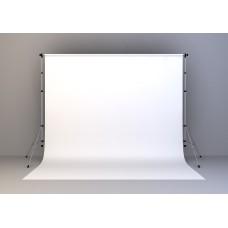 Kain Putih 20x20 feet (Screen/ Background) + Stand
