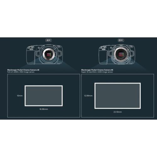 Blackmagic Design Pocket Cinema Camera 6k Ef Mount Body Only