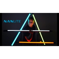 NanLite PavoTube 15C RGBW LED Tube with Internal Battery (16W, 2700K-6500K)