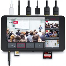 YoloBox Portable Live Streaming Encoder, Switcher, Monitor, Recorder