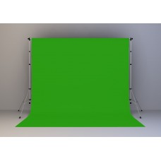 Kain Hijau 20x20 feet (Green Screen) + Stand